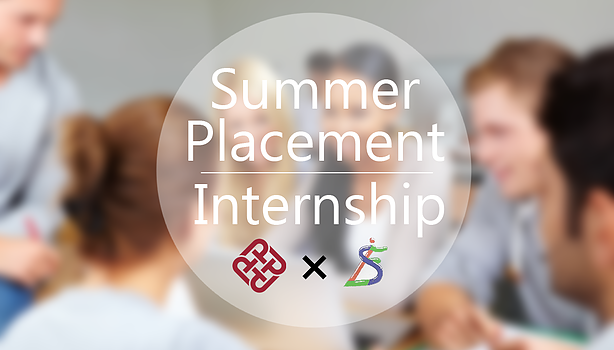 Internship & Summer Placement Opportunity